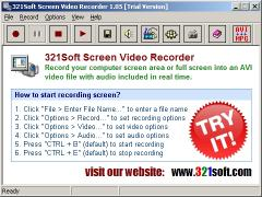 Download 321Soft Screen Video Recorder