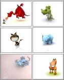 Download 3D Animals Screensaver