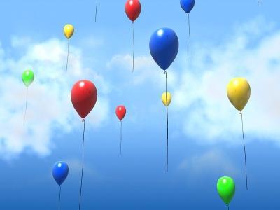Download 3D Balloons Screensaver