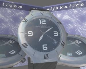 Download 3D Clock Screensaver