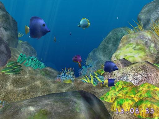 Download 3D Coral World ScreenSaver