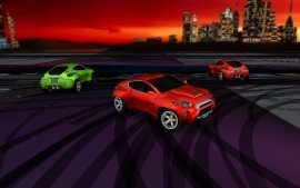 3D Desktop Cars Screen Saver for Mac
