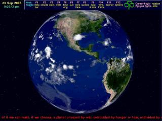 Download 3D Earth Screensaver