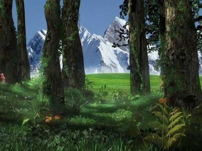 Download 3D Forest Screensaver