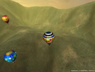 Download 3D Hot Air Balloon Screen Saver