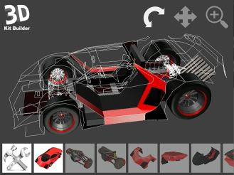 Download 3D Kit Builder (Concept Car - X350)