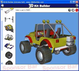 Download 3D Kit Builder (Extreme 4x4)
