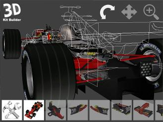 Download 3D Kit Builder (F1 Racecar)