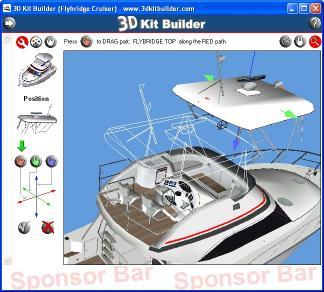 Download 3D Kit Builder (Flybridge Cruiser)
