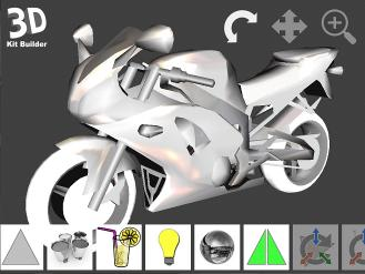 Download 3D Kit Builder (Motorbike)