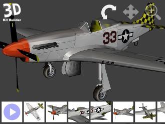 Download 3D Kit Builder (P51 Mustang)