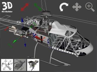 Download 3D Kit Builder (Police Helicopter 2)