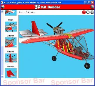 Download 3D Kit Builder (RANS S-12XL AIRAILE)