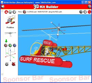 Download 3D Kit Builder (Rescue Helicopter)