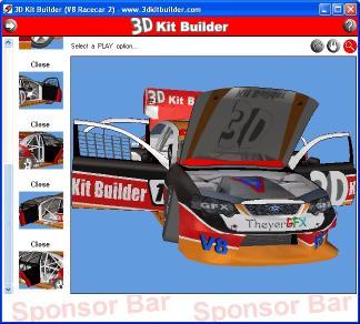Download 3D Kit Builder (V8 Racecar 2)