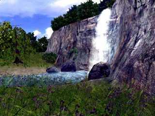 Download 3D Living Waterfall Screensaver