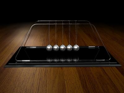 Download 3D Newton Pendulum Screensaver