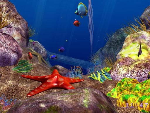 Download 3D Ocean Fish ScreenSaver