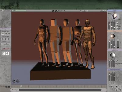 Download 3D Virtual Figure Drawing Studio Male