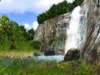 Download 3D Waterfall Screensaver