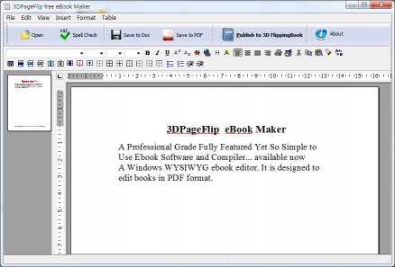 3DPageFlip eBook Maker - freeware