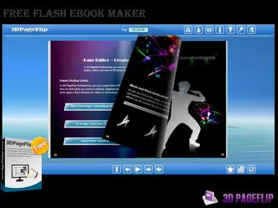 3DPageFlip Free Flash eBook Maker