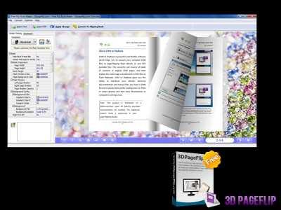 3DPageFlip Free Flip Book Maker