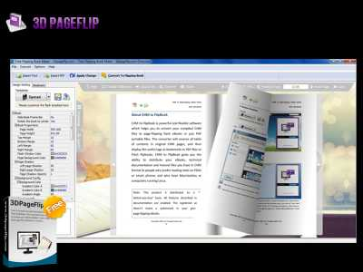 3DPageFlip Free Flipping Book Builder