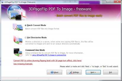 3DPageFlip PDF to Image - freeware