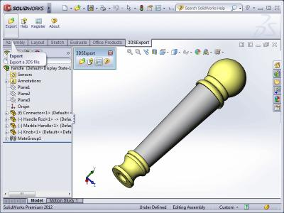 Download 3DS Export for SolidWorks