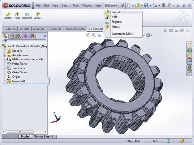 Download 3DS Import for SolidWorks