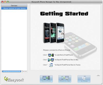 Download 4Easysoft iPhone Manager for Mac
