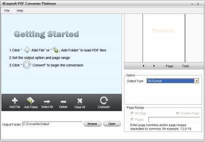 4Easysoft PDF Converter Platinum