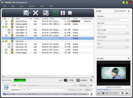 Download 4Media ASF Converter