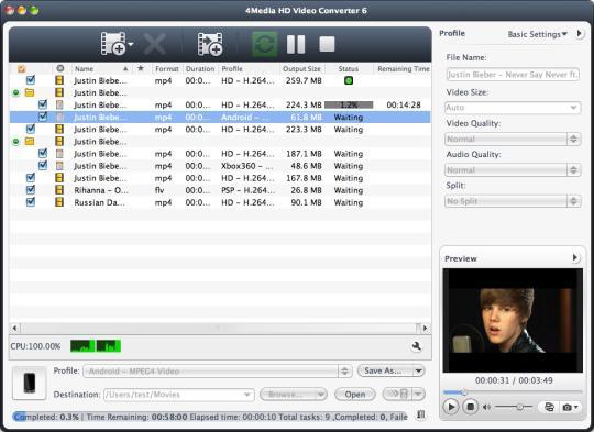 Image result for 4Media HD Video Converter