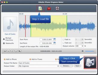 Download 4Media iPhone Ringtone Maker for Mac