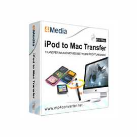 4Media iPod to Mac Transfer for Mac