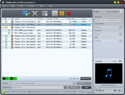 Download 4Media MP4 to MP3 Converter