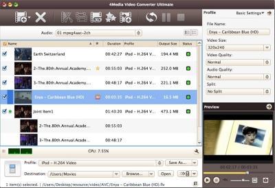 Download 4Media Video Converter Ultimate for Mac