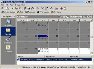 Download 4t Calendar Reminder MP3
