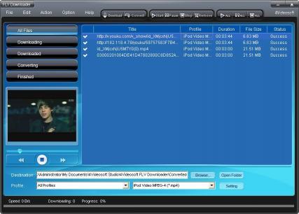 Download 4Videosoft FLV Downloader