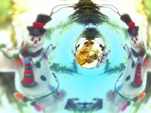 Download 7art Christmas Tunnels 3D ScreenSaver