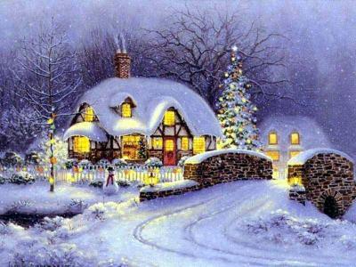 Download 7art Merry Christmas screensaver