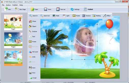 A-PDF Flash Album Maker