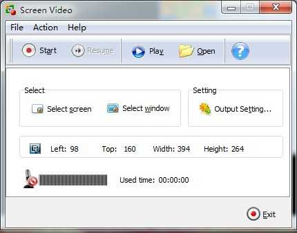 A-PDF Screen Video Capture