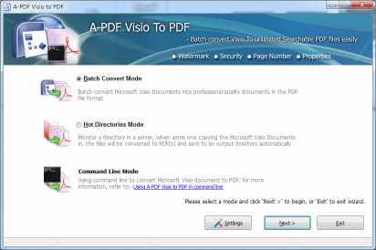 A-PDF Visio to PDF