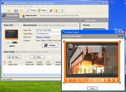 Download A4Desk Flash Video Player
