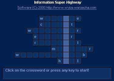 Aamazing KaaBlitz Crossword