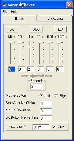 Download Aarons Advanced Auto Clicker/Typer