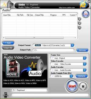 Abdio Audio Video Converter